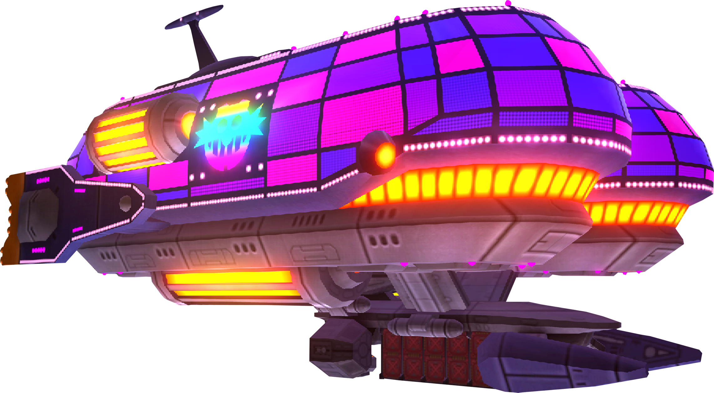 Frigate Orcan Sonic Colours