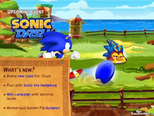 """Angry Birds Epic """"Sonic Dash"""" Special Event"""