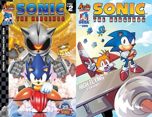 Sonic the Hedgehog #289