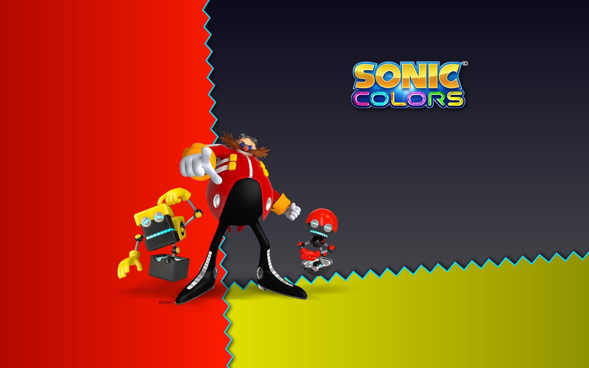 Sonic Colors Eggman Orbot