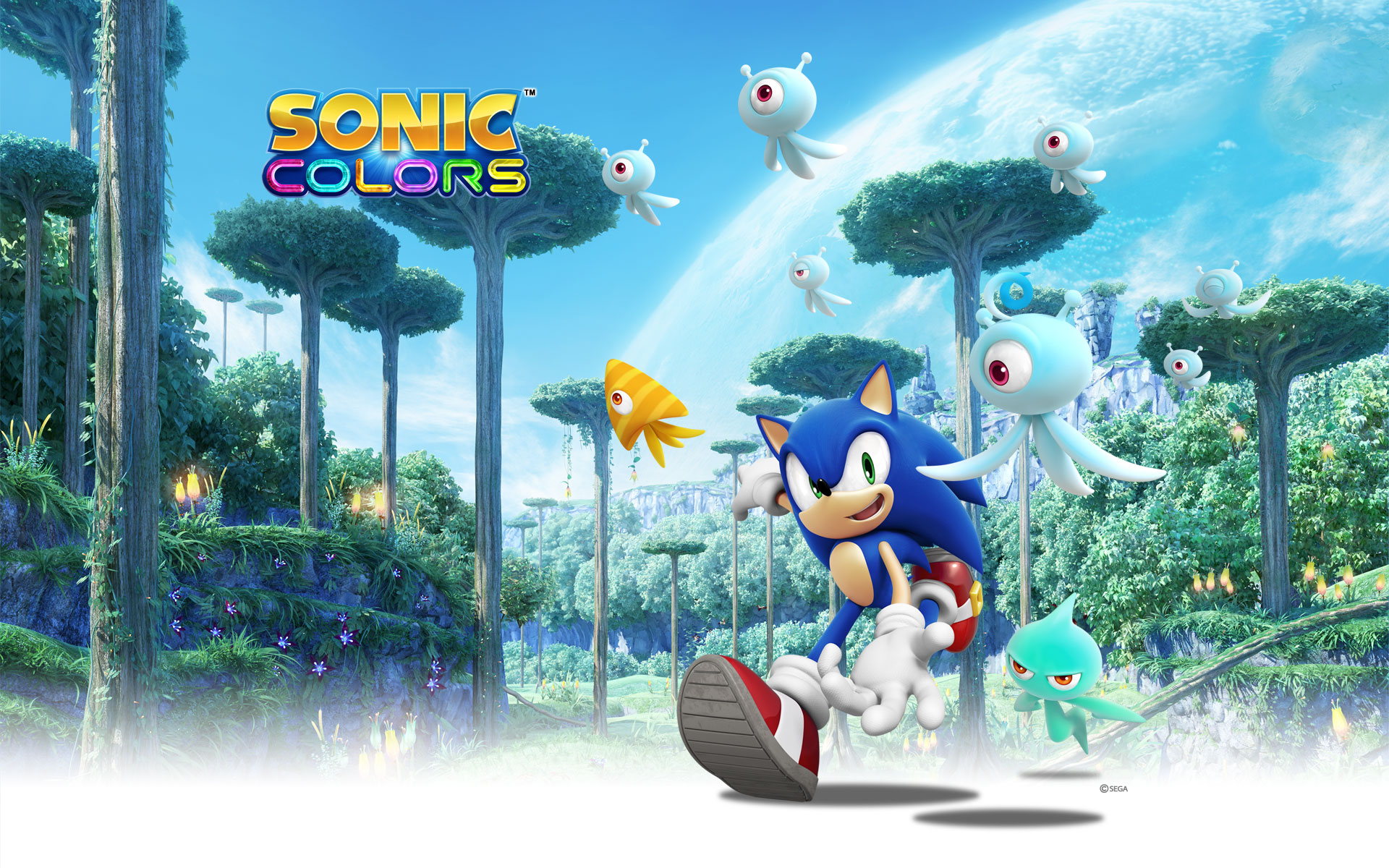 Sonic Colors Sonic And