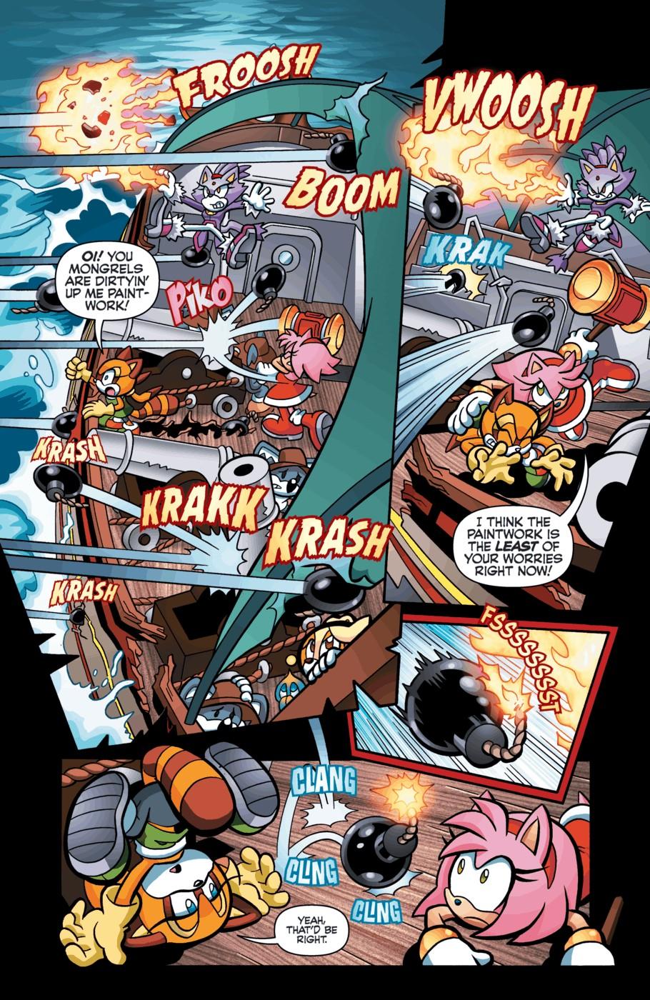 Archie Sonic Universe Issue 55   Mobius Encyclopaedia   Fandom ...