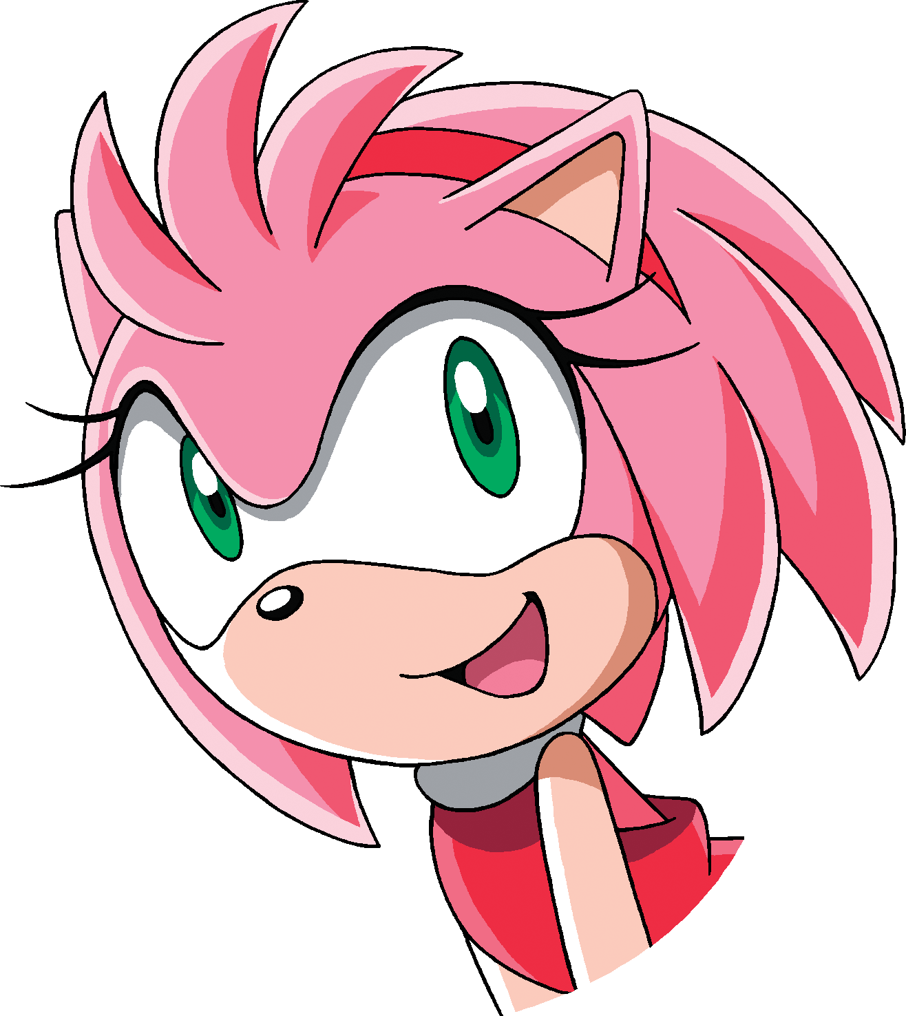 amy rose smile 