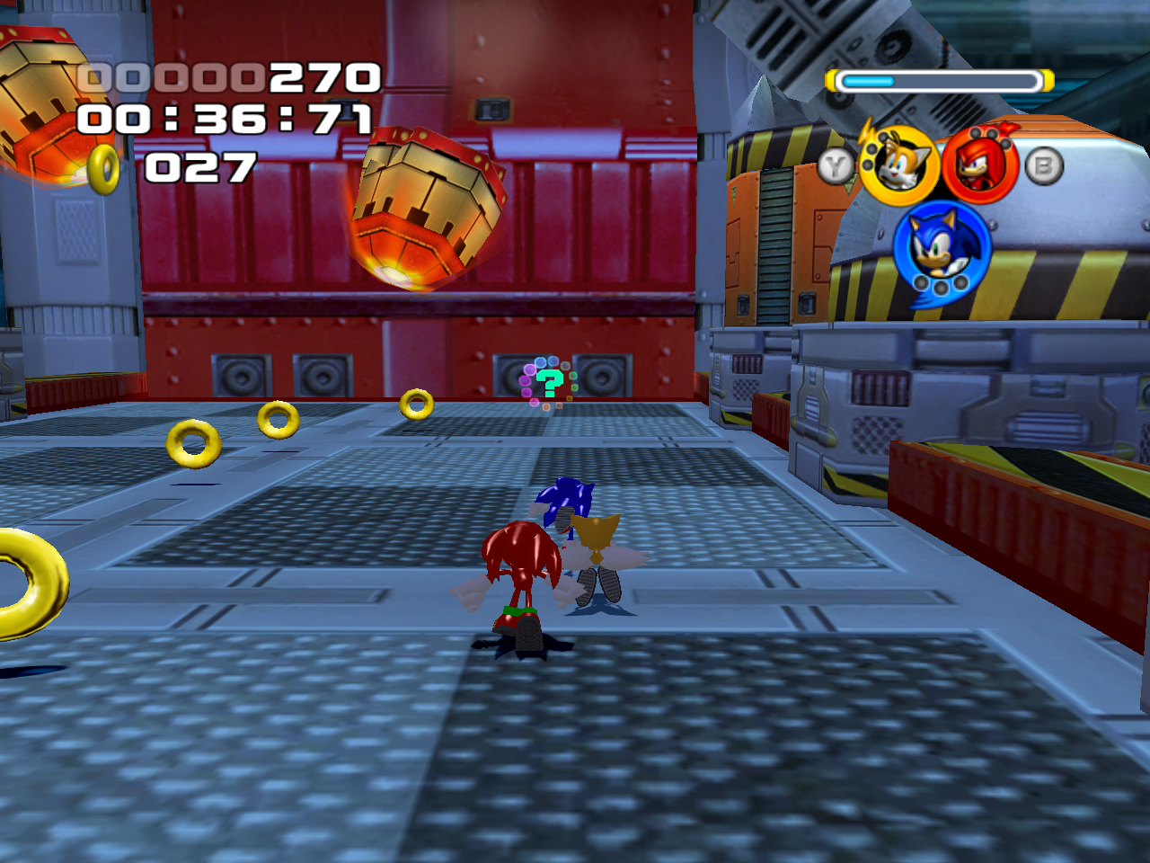 Sonic Heroes Final Fortress