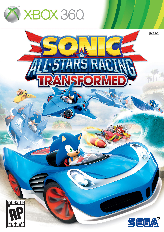 Scanf news sonic all stars racing transformed xbox 360 boxart