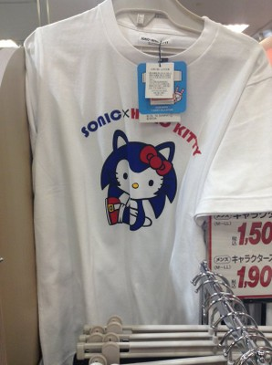 Sonic x Hello Kitty - T-Shirt