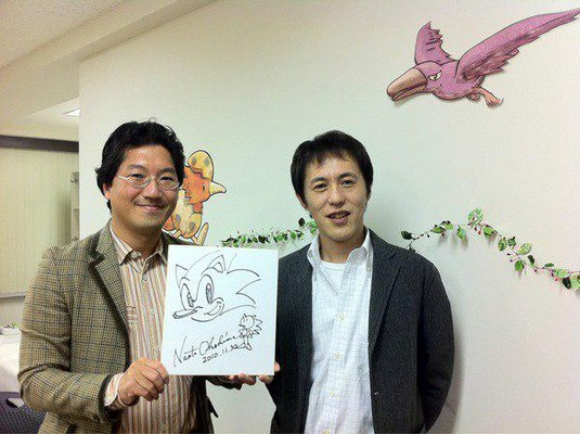 Yuji Naka & Naoto Osima