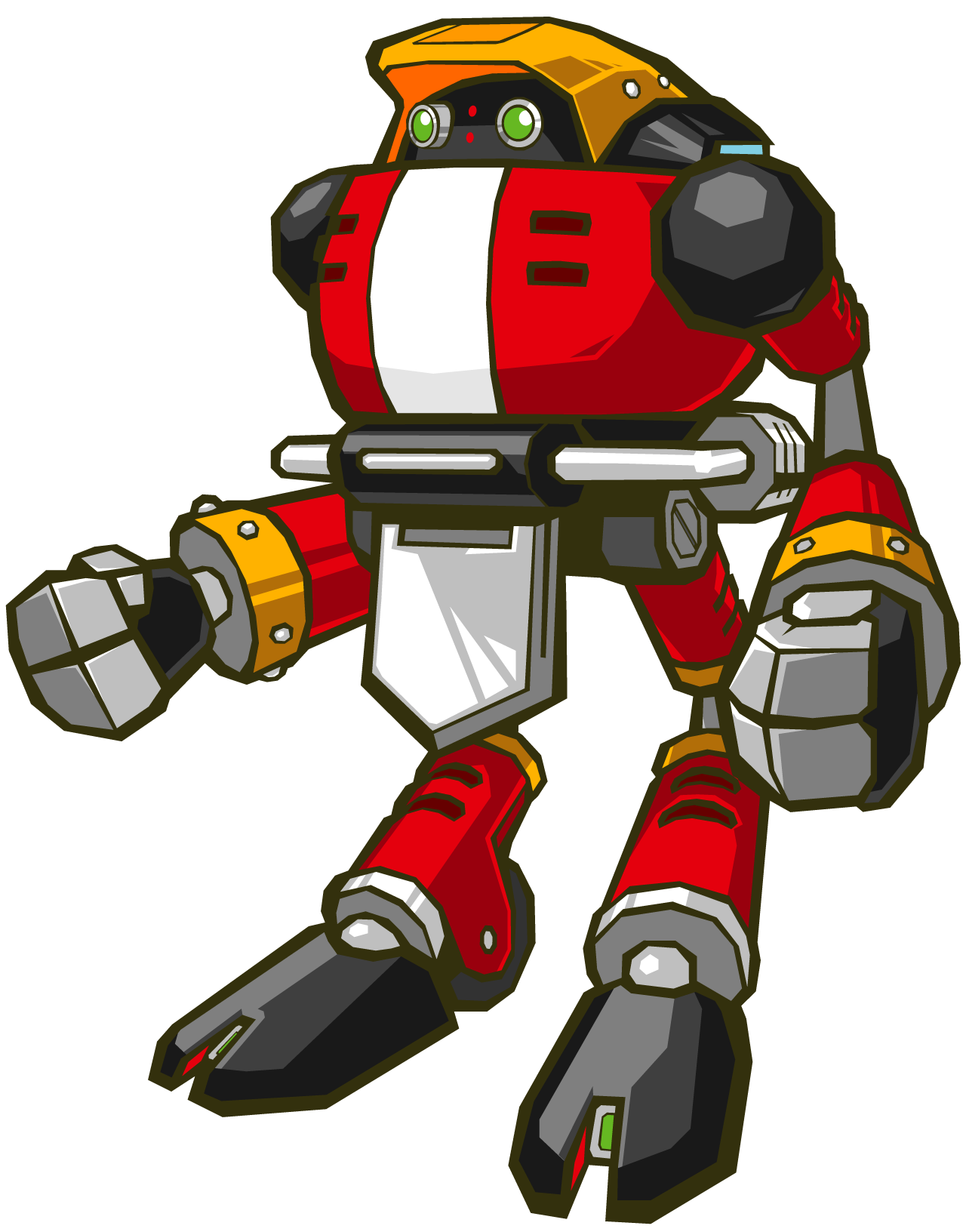 E-102 Chaos Gamma - Sonic Battle - Other Characters ...