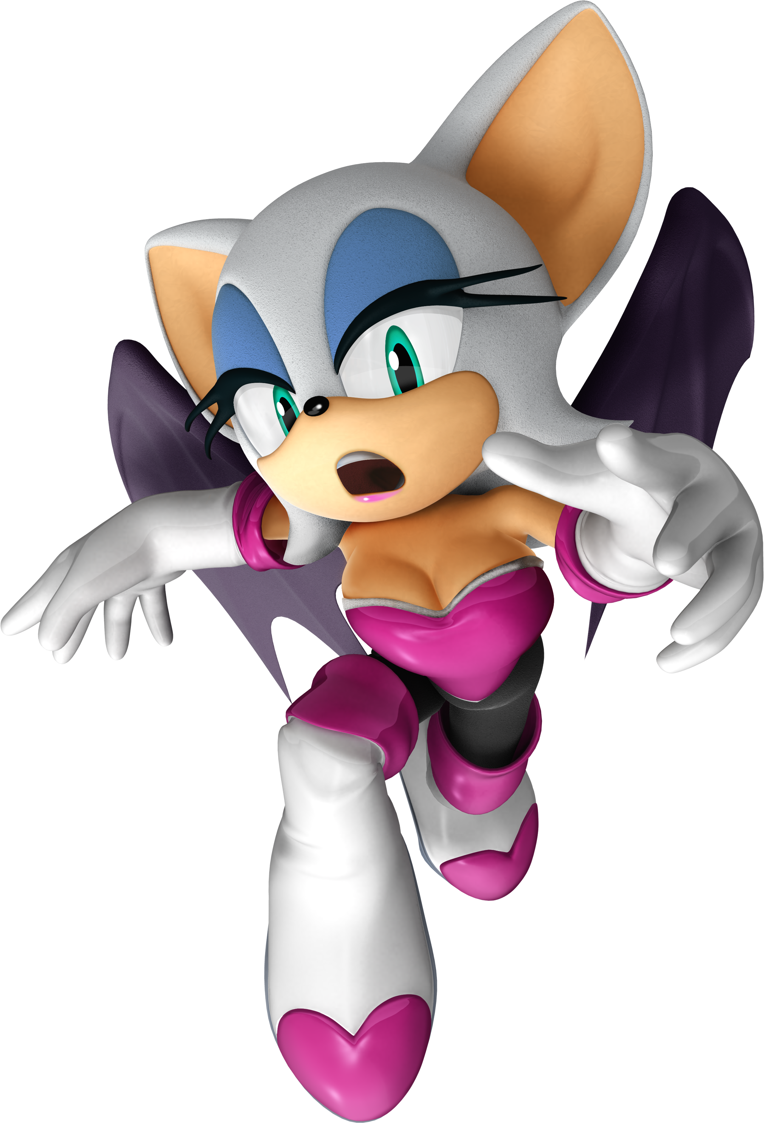 Naked rogue sonic pron picture