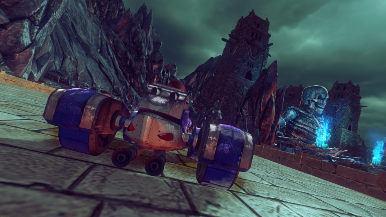 Screenshots » Sonic & All-Stars Racing Transformed » Al Vyse Car 2