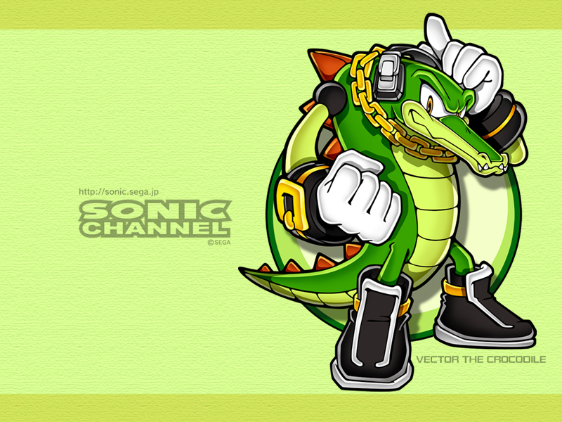 2006/05 - Vector the Crocodile - Channel Style - Sonic ...