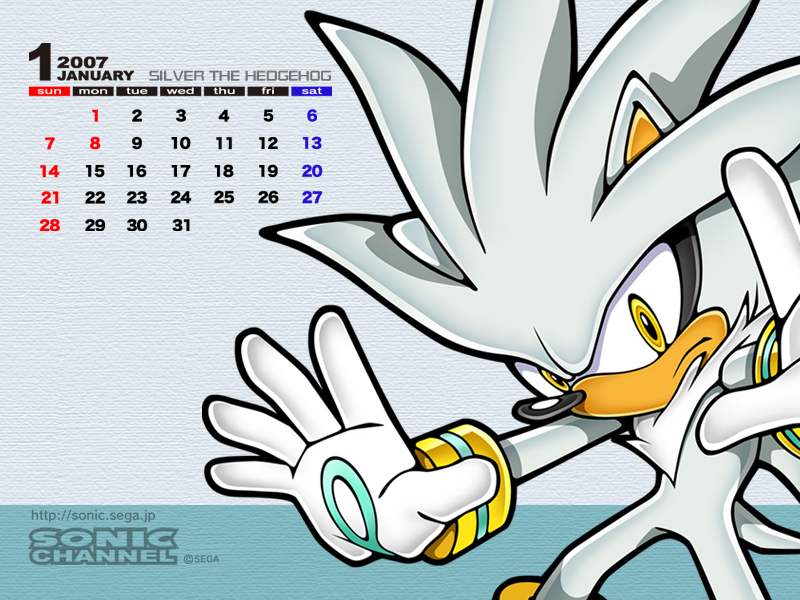 2007/01 - Silver the Hedgehog