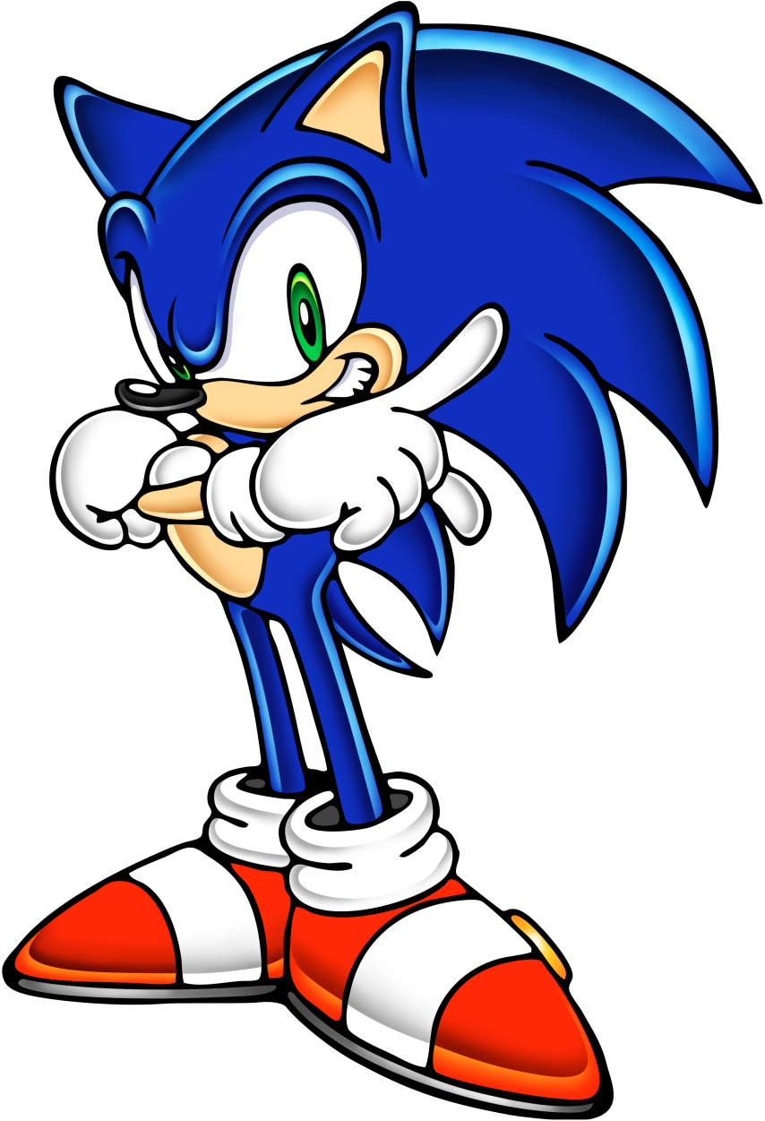 Gallery    Official Art    Sonic the Hedgehog    Sonic Adventure