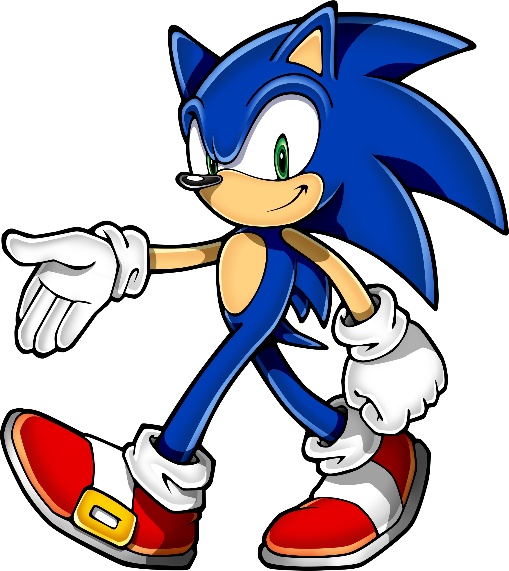 It is a photo of Stupendous Sonic the Hedgehog Galleries