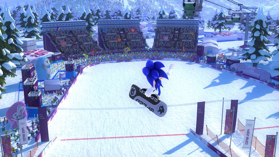 Mario & Sonic at the Olympic Winter Games Sochi 2014 » Wii U » Mario