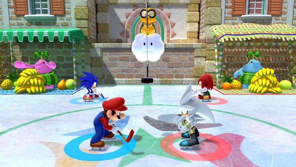 Mario & Sonic at the Olympic Winter Games Sochi 2014 » Wii U » Mario