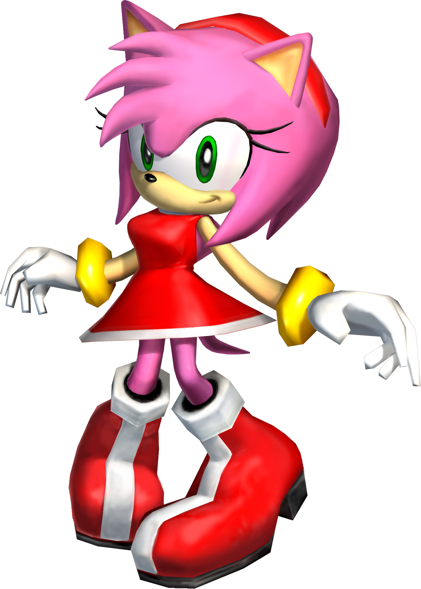 sonic adventure 2 battle – 3d - amy rose - gallery - sonic scanf