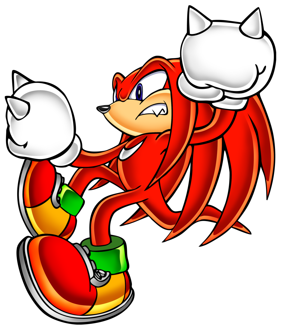Sonic Adventure - Knuckles the Echidna - Gallery - Sonic SCANF