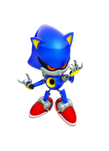 Sonic Generations - Retro Metal Sonic
