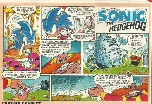 Sonic Sunday Strips