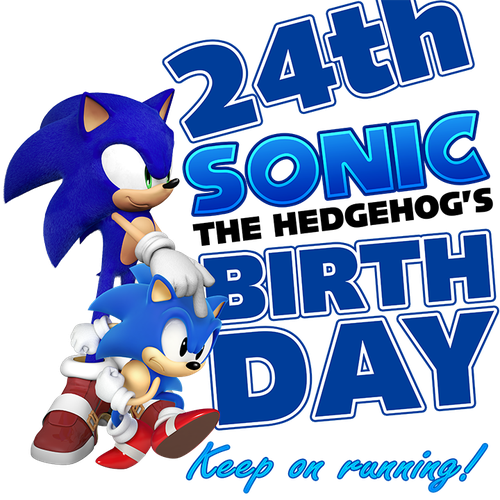 Sonic the Hedgehog's 24th Birthday