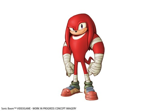 Sonic Boom - Videogame - Knuckles