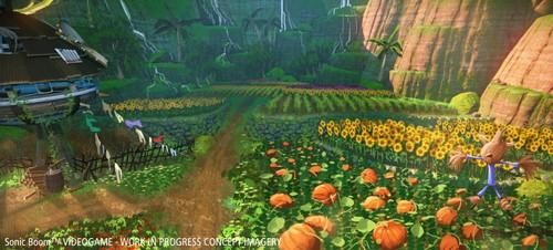 Sonic Boom - Videogame - Level