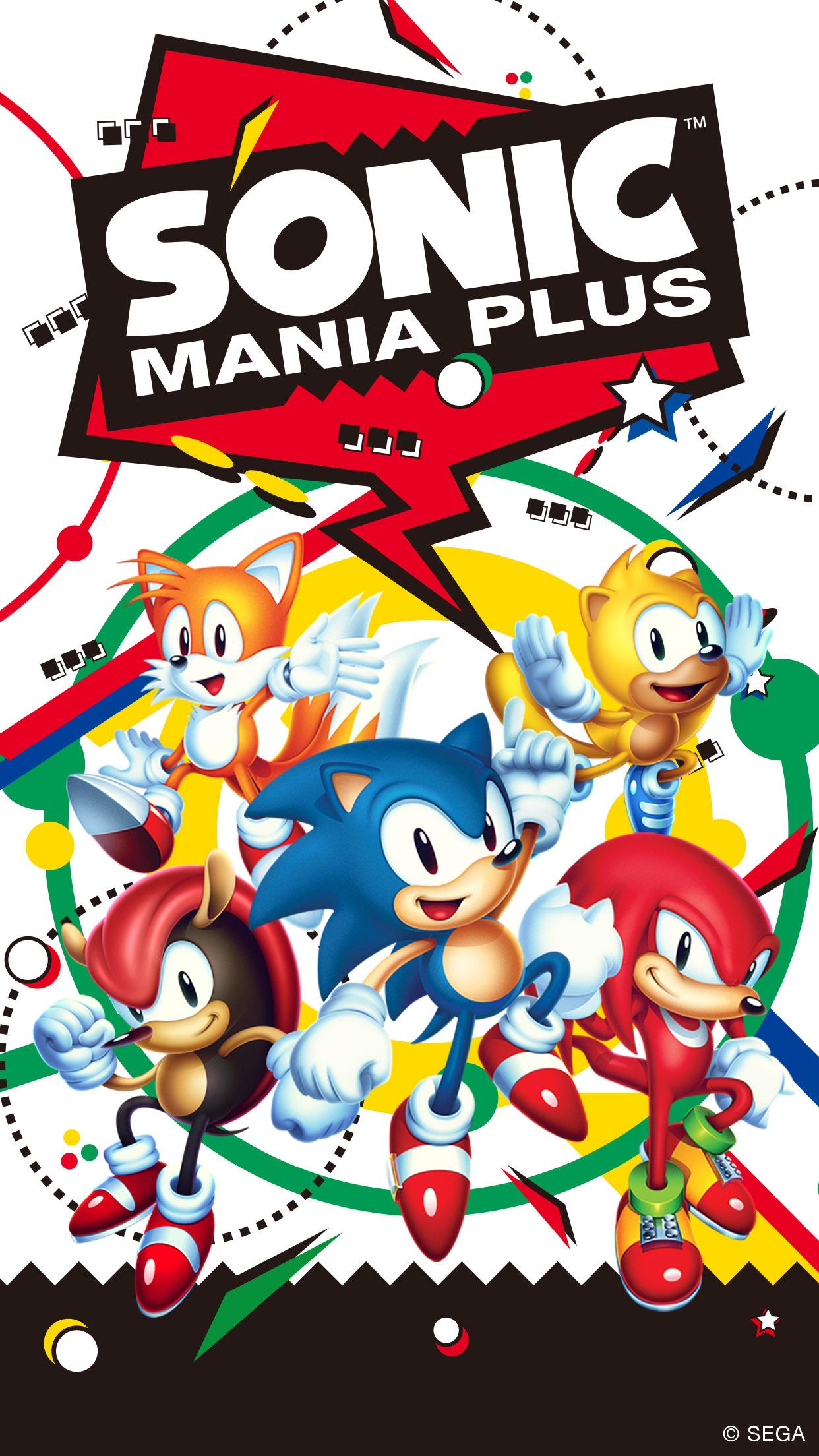 1 Mobile 1242x2208 Sonic Mania Plus Wallpaper