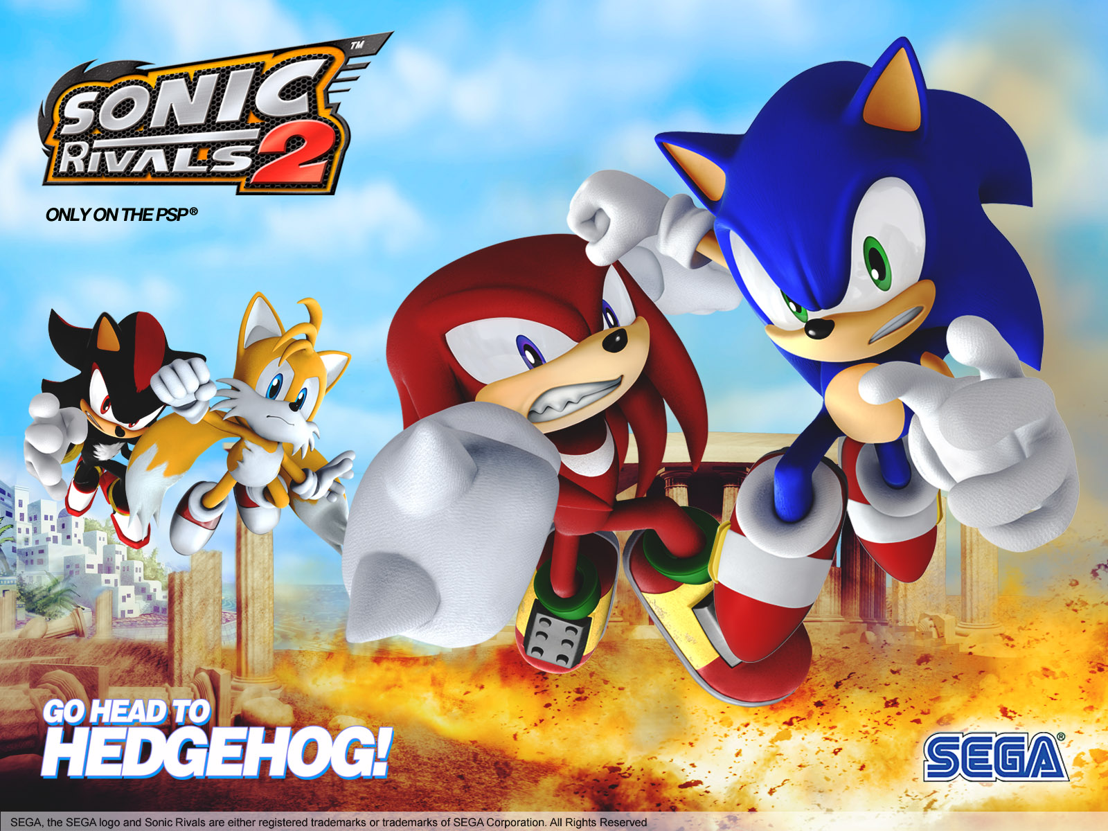 Image - Sonic-rivals-20061120103946091 640w.jpg | Sonic News ...