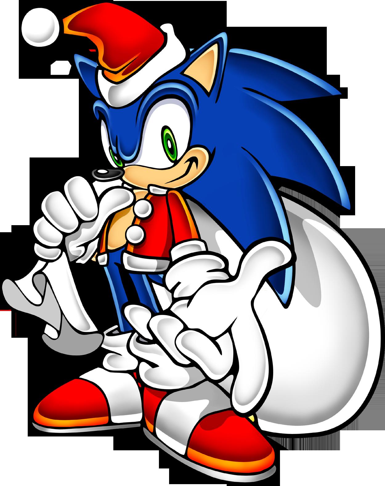 Sonic Adventure - Xmas Standing - Sonic the Hedgehog - Gallery ...