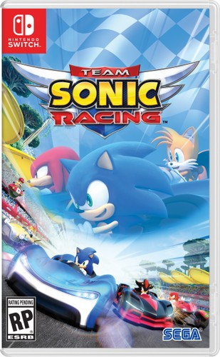 Team Sonic Racing - Cover