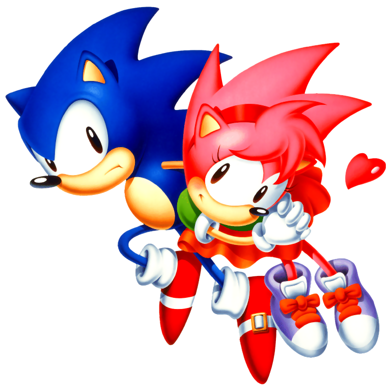 Sonic Cd With Sonic Amy Rose Gallery Sonic Scanf