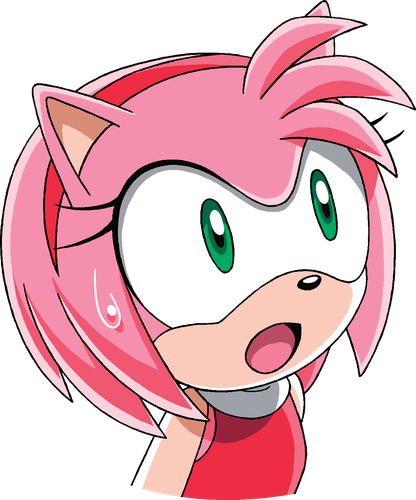 Sonic X – Surprise - Amy Rose - Gallery - Sonic SCANF