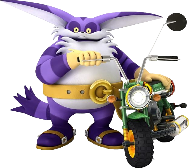 Sonic & Sega All-Stars Racing - Big the Cat - Gallery - Sonic SCANF