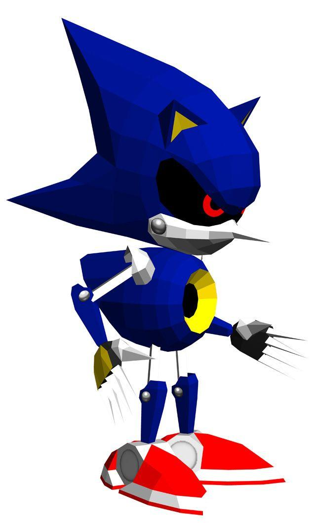 Sonic the Fighters - Metal Sonic - Gallery - Sonic SCANF