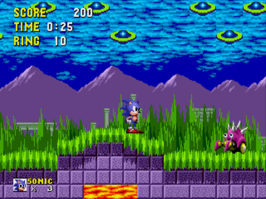 Sonic 16-Bit (Prototype)