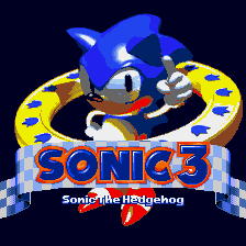 Sonic 3 Title Screen (Nov 3, 1993 Prototype)