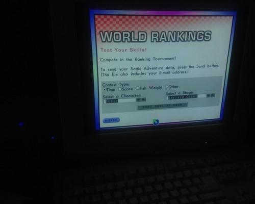Sonic Adventure World Rankings