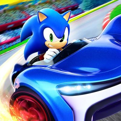 Sonic Racing App Store Icon