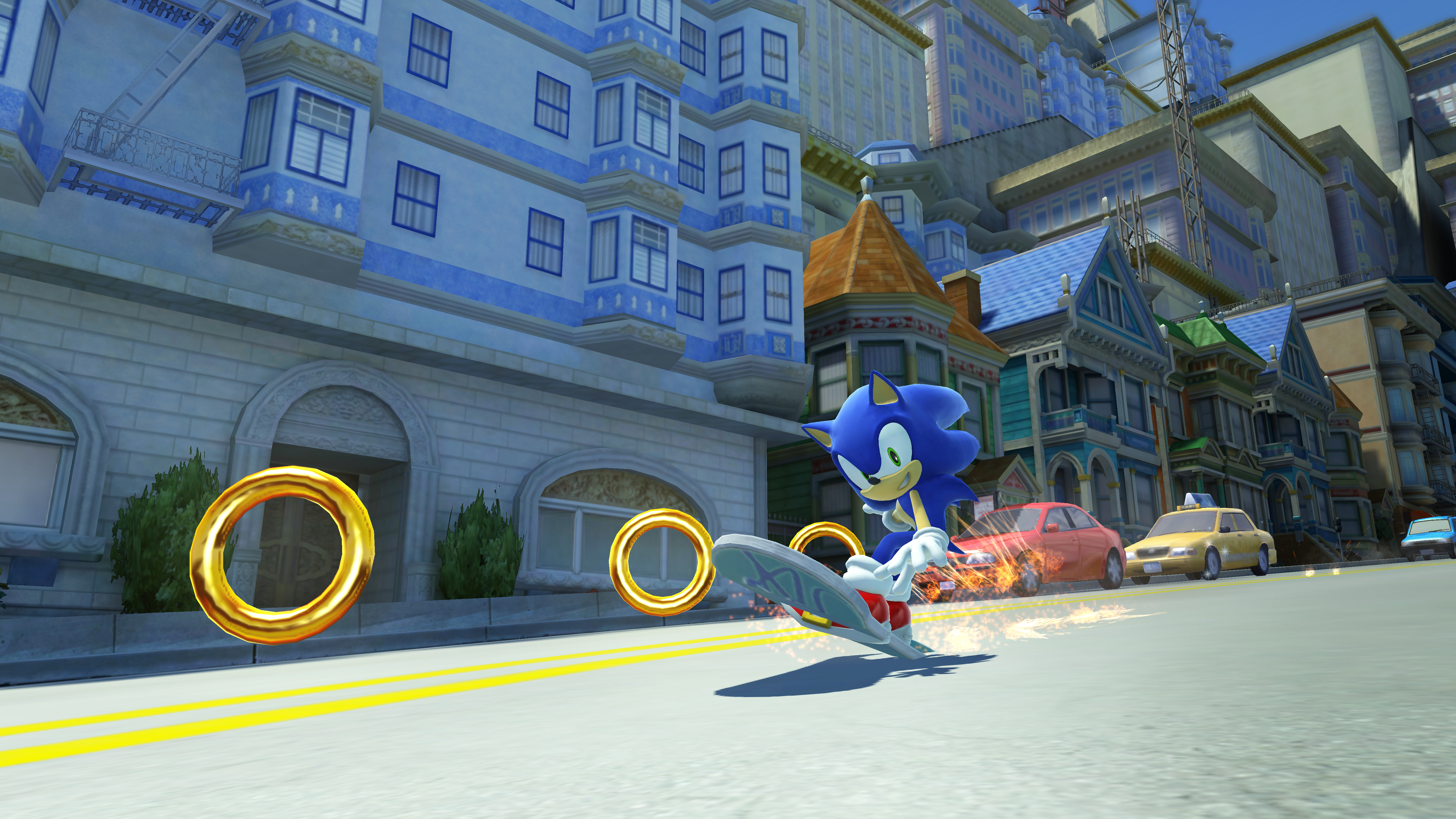 city escape modern sonic sonic generations gallery