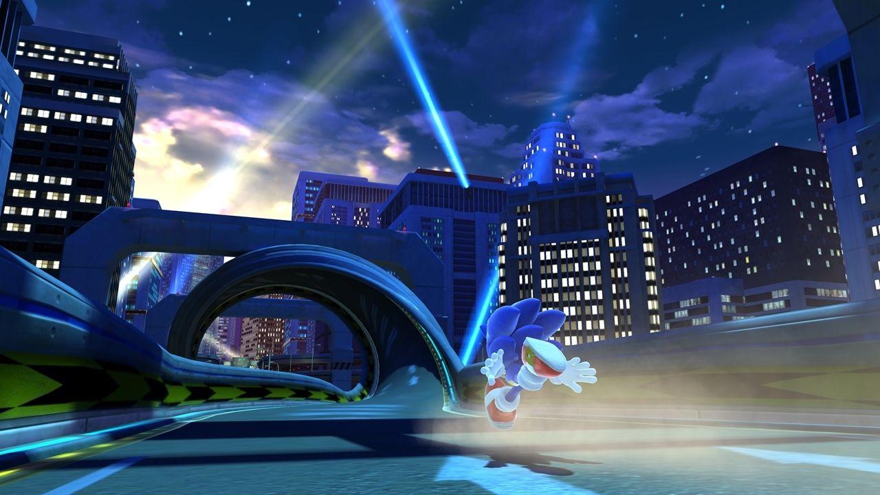 Speed Highway - Modern Sonic - Sonic Generations - Gallery ...