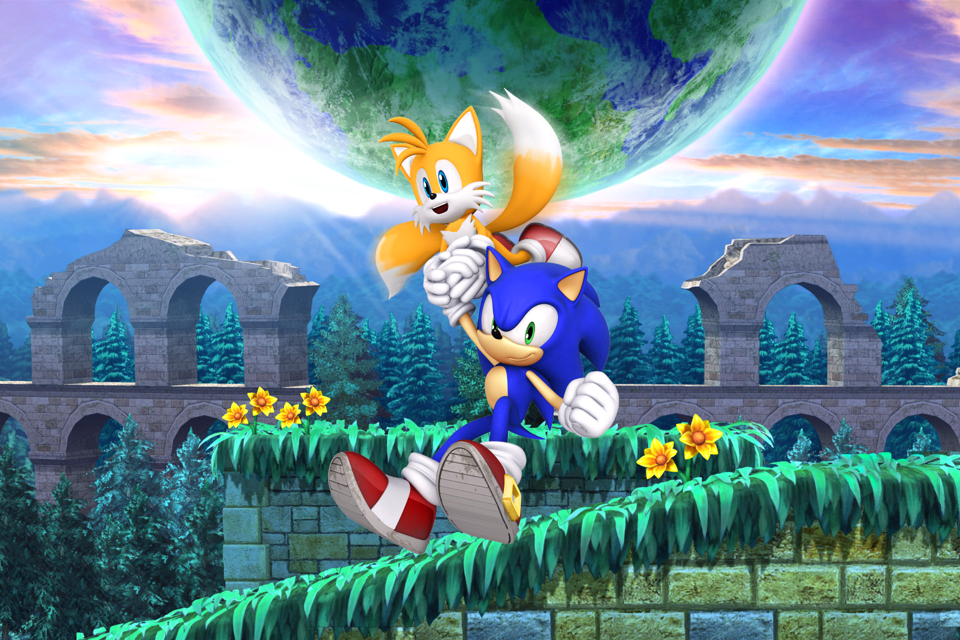 sonic the hedgehog wallpapers