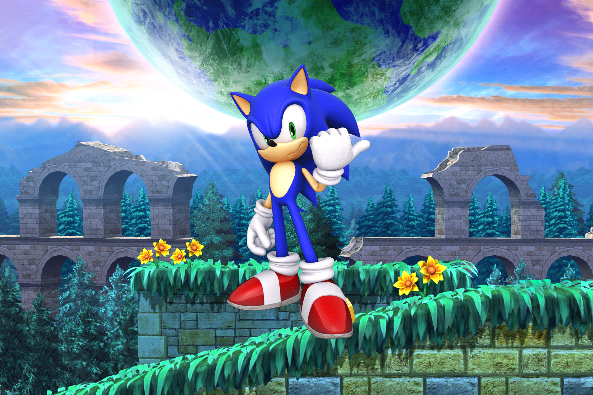 sonic the hedgehog sonic the hedgehog 4 episode ii gallery sonic scanf. Black Bedroom Furniture Sets. Home Design Ideas