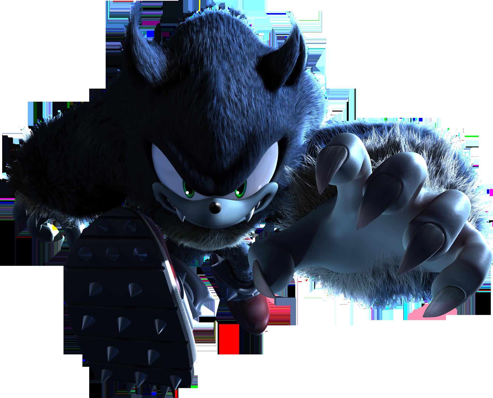 Sonic Unleashed - Packshot Pose Full Werehog - Sonic the ...