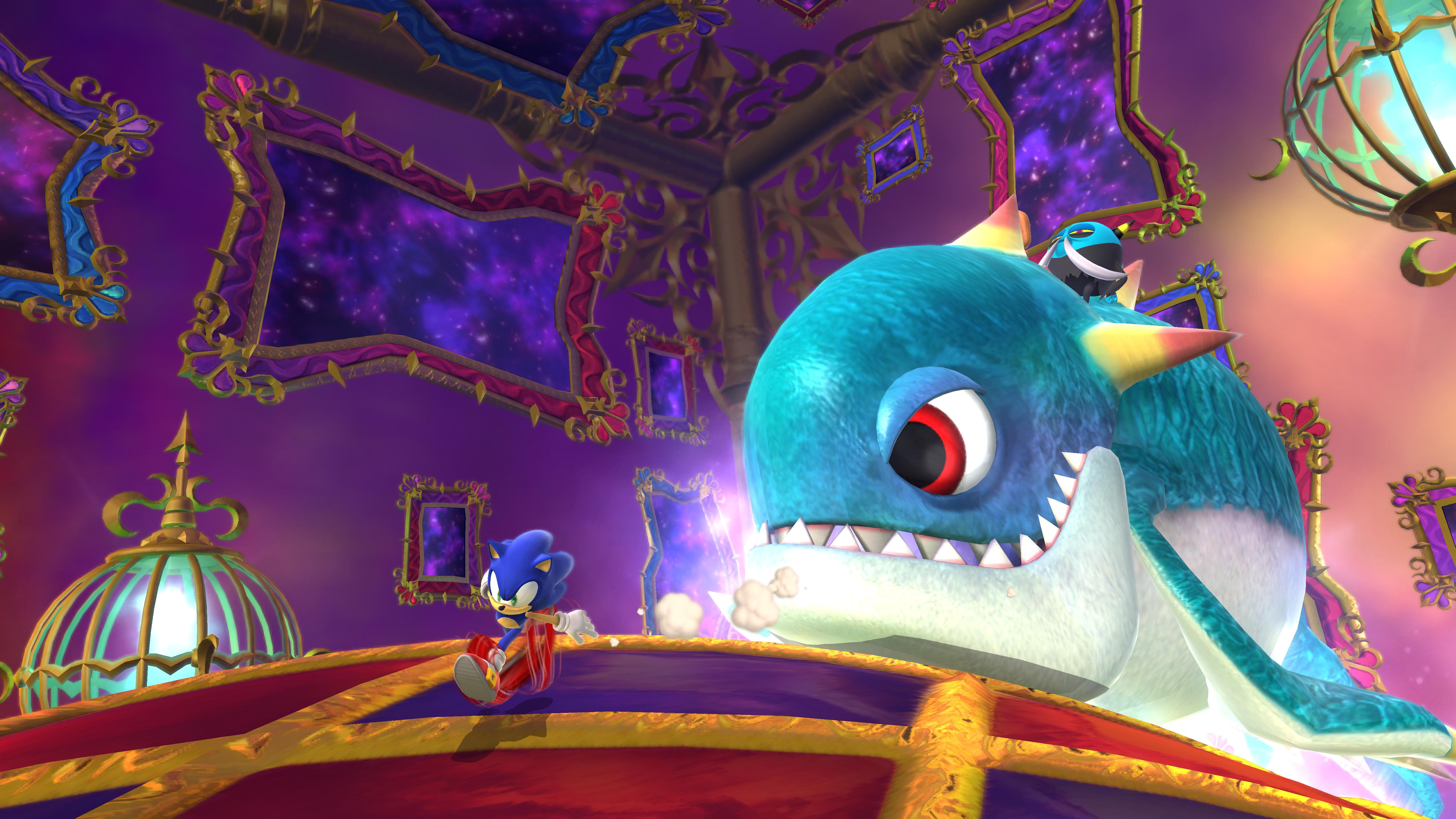Sonic Lost World — Nightmare DLC - Wii U - Gallery - Sonic ...